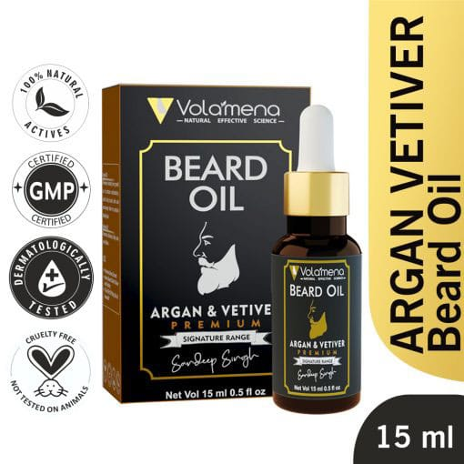 Argan & Vetiver Beard Oil